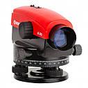 ВИБІР ГЕОДЕЗИСТІВ ᐉ Оптичний нівелір INTERTOOL МТ-3010 + рейка геодезична 5 м+ оптичний штатив, фото 2