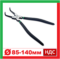 Toptul DCAC1212. Щипцы для снятия стопорных колец, внутренних, кольцесъемник, съемник, клещи, плоскогубцы