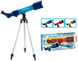 Телескоп детский 6606A со штативом ASTRONOMICAL TELESCOPE 40/60/80