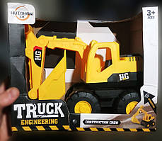 Truck engieering construction crew hg
