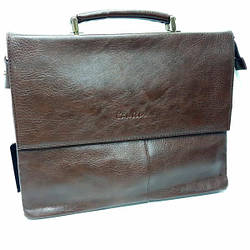 Мужской, деловой, портфель выполнен из экологической кожи / 28-36-5 см0 Результаты перевода Му