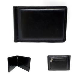 Зажим для грошей чоловічий,  від PETEK / зажим мужской из качественного заменителя кожи 7,5*11*0,7 см / 1002-1