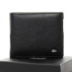 Мужской кожаный кошелек Dr.Bond Зажим для банкнот, черного цвета / MSM-3