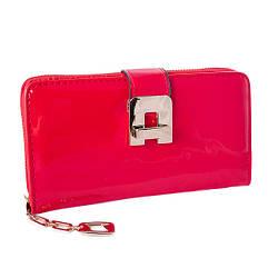 Женский кошелек из качественной эко-кожи, красного цвета от Eslee / 19*10*4