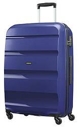 Валіза American Tourister Bon Air ,поліпропілен , Темно-синій/Midnight Navy , 40×55×20 см , 31.5 л , 85A-41001