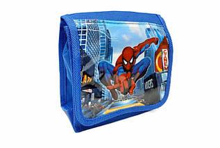 Дитяча Сумка для хлопчиків. Сумка планшет, синього кольору Spider-Man / 14*15*7