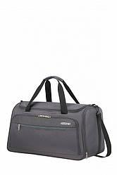 Дорожня сумка HEAT WAVE American Tourister сірого кольору / 55x32x31 см / 50 л / гарантія 2 роки