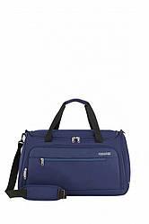 Дорожня сумка HEAT WAVE American Tourister синього кольору  55x32x31 см / 50 л / гарантія 2 роки