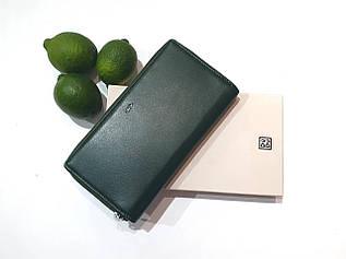 Женский кошелек на круговой молнии из натуральной кожи Nappa Dudubags / размер 20x10,5x2,5см