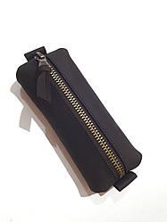 Ключниця з натуральної шкіри Crazy Horse ТМ ArtMar , 13.5 x 5.5 x 2 см , колір коричневий