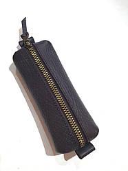 Ключниця з натуральної шкіри ТМ ArtMar , 13.5 x 5.5 x 2 cм , колір коричневий