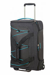 Сумка на колесах від American Tourister ROAD QUEST ,графіт/бірюзовий/Graphite/ Turquoise,34x55x26 см|42 л|2 кг