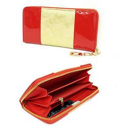 Гаманець жіночий із якісної еко-шкіри, червоного кольору від ESLEE / кошелек женский из качественной еко-кожи