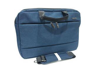 Сумка - чехол для ноутбука или сумка для ноутбука выполнена из текстиля от GORANGD / 28 * 40 * 6.5 см