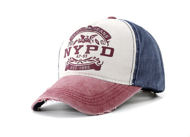Стильна модна річна бейсболка NYPD (New York Police Department)