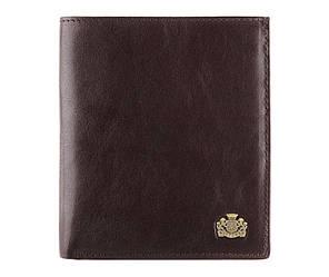 Мужской кожаный кошелек от бренда Wittchen Arizona / размер 12.5-11-2 см / цвет коричневый