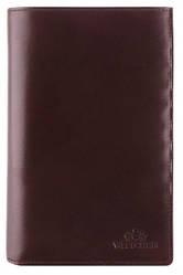 Мужской кожаный кошелек от бренда Wittchen Italy / размер 17.5-11.5-2 см / цвет коричневый