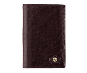 Мужской кожаный кошелек от бренда Wittchen Da Vinci / размер 14-9-2 см / цвет коричневый