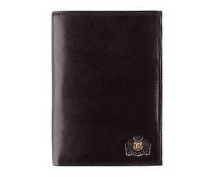 Мужской кожаный кошелек от бренда Wittchen Da Vinci / размер 15-10-2 см / цвет черный