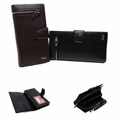 Мужской кошелек-клатч Tolo  / экокожа / размер 19.5-10.5-3 см / код 3006