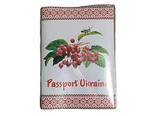 """Обкладинка для паспорта старого зразка, прозора """"ПАТРІОТ"""" / 13*9"""