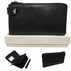 Клатч кошелек мужской, натуральная кожа от HASSION / 21,5 * 13 * 2,5 / LF301-1