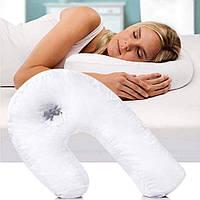 Анатомическая подушка подкова для сна Side Sleeper Pro (14654)