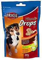 31633 Trixie Vitamin Drops дропсы со вкусом бекона, 200 гр