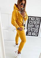Костюм женский, стильный, желтый, 511-511-8
