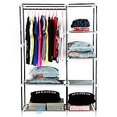Шафа Storage Wardrobe 88105 складаний тканинний, фото 3