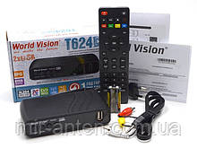 World Vision T624D2 DVB-T2 приставка т2