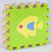 Коврик-пазл рыбки 9 элементов в упаковке SKL11-291810