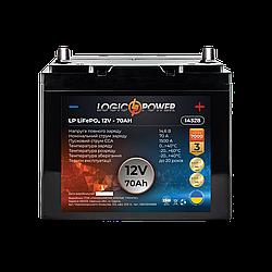 Аккумулятор для автомобиля литиевый LP LiFePO4 12V - 70 Ah (+ справа, обратная полярность) пластик