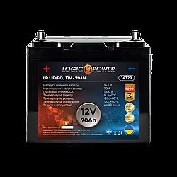 Аккумулятор для автомобиля литиевый LP LiFePO4 12V - 70 Ah (+ слева, прямая полярность) пластик