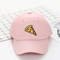 Кепка Бейсболка Чоловіча Жіноча City-A з Піцою Pizza Рожева