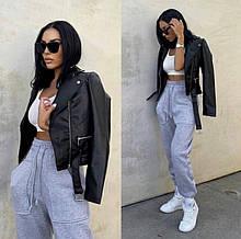 """Трендові жіночі спортивні штани джоггеры """"Evian"""""""