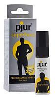 Пролонгує спрей pjur Superhero Spray 20 мл, вбирається в шкіру, натуральні компоненти