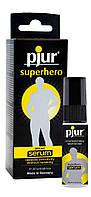 Пролонгує гель pjur Superhero Serum 20 мл, створює невидиму плівку знижує чутливість