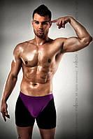 Чоловічі шорти з фиолотовым гульфіком Passion 009 THONG violet XXL/XXXL