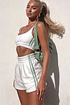 Жіночий костюм, двунить, р-р 42-44; 44-46 (білий), фото 2