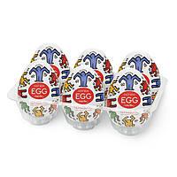 Набір Tenga Keith Haring EGG Dance (6 яєць)