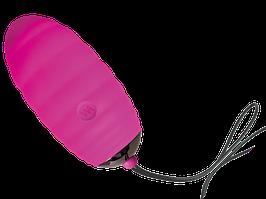 Віброяйце Adrien Lastic Ocean Breeze Pink з пультом ДУ, 10 режимів роботи