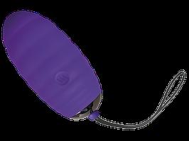 Віброяйце Adrien Lastic Ocean Breeze Purple з пультом ДУ, 10 режимів роботи