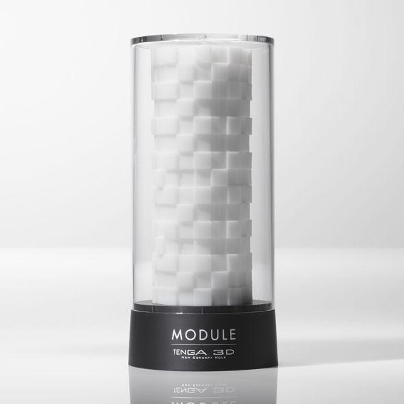 Мастурбатор Tenga 3D Module, очень нежный, из антибактериального эластомера с серебром