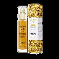 Масло для тіла з блиском EXSENS Glam Oil 50мл, з маслом мигдалю, без парабенів і феноксиетанолу