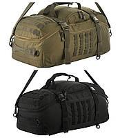 M-Tac сумка - рюкзак Hammer черный, олива НОВИНКА