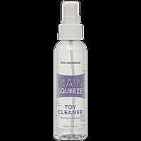Чистячий засіб для іграшок Doc Johnson Main Squeeze Toy Cleaner (118 мл) антибактеріальний