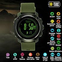 M-Tac годинник тактичні мультифункціональні олива, фото 3