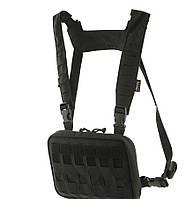 M-Tac нагрудная сумка Chest Rig Elite Black