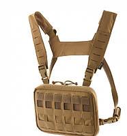 M-Tac Chest нагрудная сумка Rig Elite Coyote